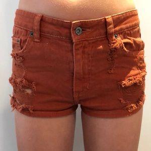 Rust Carmar shorts